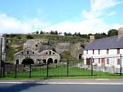 Cast houses at Blaenavon iron works